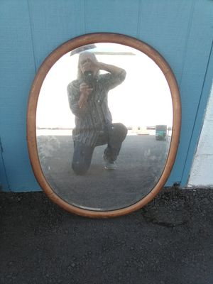 Antique Oval Beveled Mirror for Sale in Fresno, CA