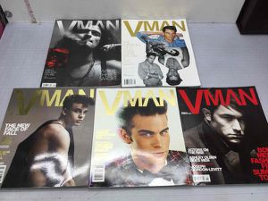Five VMan Men's Fashion Magazines for Sale in San Jose, CA