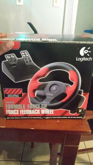 Logitech..formula(force Go) feedback wheel and pedal for Sale in Pittsburgh, PA