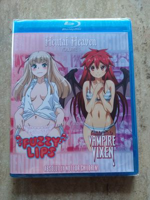 Double Disc Delights 2: Vampire Vixen, Fuzzy Lips & Others [Blu-ray] for Sale in Downey, CA