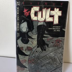 Batman #1 The Cult - Book One: Ordeal for Sale in El Sobrante, CA