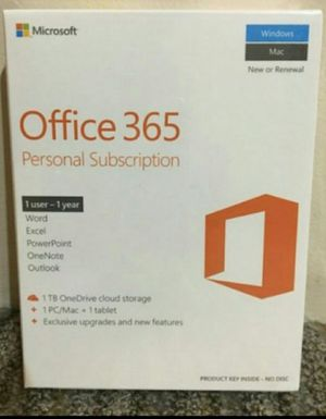 Physical Microsoft Office 2020/2019 Copy for Sale in Riverside, CA