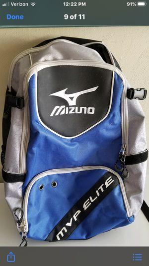 Mizuno mvp Elite baseball backpack, like new for Sale in Chesapeake, VA