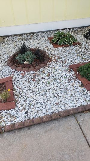 FREE, White landscaping rock for Sale in Wichita, KS