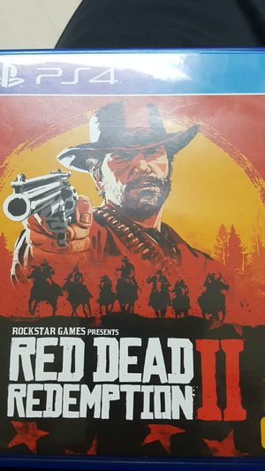 Ps4 RED DEAR REDEPTION for Sale in Anaheim, CA