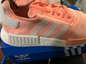 Women's adidas nmds size 11 worn once for Sale in Tacoma, WA