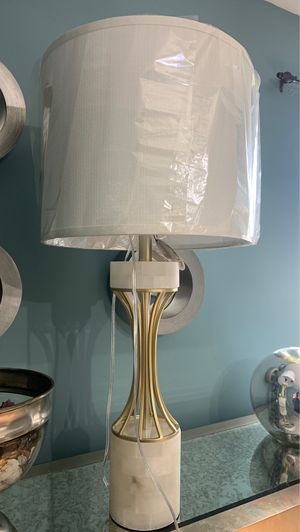 Natural marble lamp for Sale in Olive Branch, MS