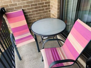 Patio Chairs & Table for Sale in Reston, VA