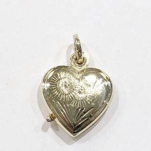 14K Yellow Gold Woman's Heart Locket Pendant **Great Buy** 10011911-1 for Sale in Tampa, FL
