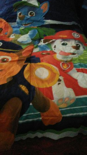 Paw patrol complete bed set (size full) for Sale in Taylor, MI