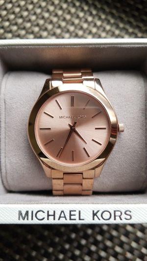 Women's Rose Gold Michael Kors Watch for Sale in Saginaw, MI