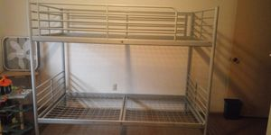 Bunk Bed Frame $80 (OBO)(Pick-up only and Please read the Description) for Sale in Bremerton, WA