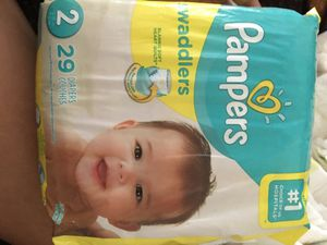 Size 2 Diapers in open box! 88 diapers in total. for Sale in Chula Vista, CA