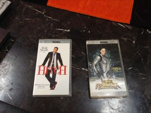 2 PlayStation psp UMD Movies $15 for BOTH for Sale in Crestwood, IL