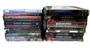 23 DVD movies horror comedy family sci-fi action for Sale in Salem, OR