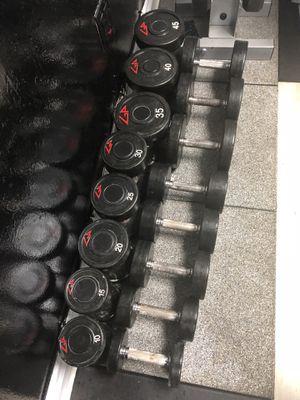 10lb-45lb dumbell weight set for Sale in Doral, FL