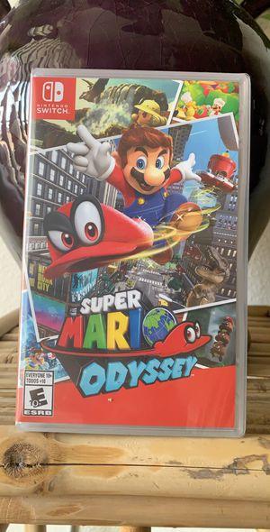 Nintendo Switch games - Super Mario Odyssey for Sale in Las Vegas, NV