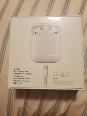 Air pods with charging case new never opened for Sale in Torrance, CA