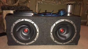 Kenwood 12's and amp for Sale in Tampa, FL