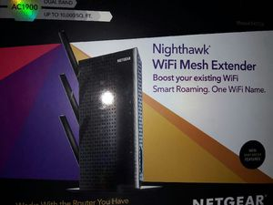 Netgear Nighthawk AC1900 WiFi mesh extender for Sale in Vernon, CA