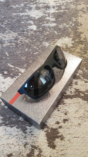 Prada polarized sunglasses NEW with case box and cloth - SPS 02Q 62 18 DG0-5Z1 130 3P for Sale in Fort Lauderdale, FL