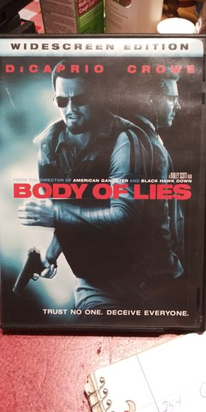 Body of Lies dvd for Sale in Brainerd, MN