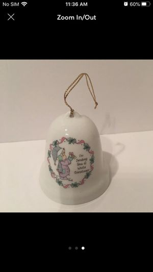 Precious moments 1996 Christmas ornament for Sale in Sugar Land, TX