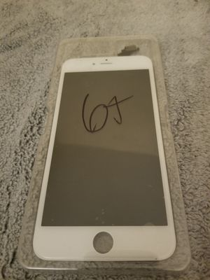 iPhone 6 plus screen replacement lcd in white for Sale in San Diego, CA
