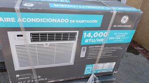 New GE ac air conditioner 14000 btu wall window with remote regaler plug oulet for Sale in Burbank, CA