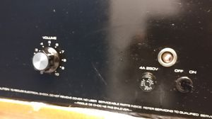 ALTEC LANSING POWER AMPLIFIER model 1590E REAL POWERFUL for Sale in Miami, FL