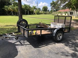 Utility Trailer 5x10ft for Sale in Southwest Ranches, FL