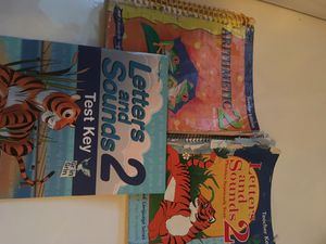 Abeka 2nd Grade Arithmetic Key, Letters and Sounds Keys $10 for All for Sale for sale  Ridgefield, WA