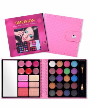 All in One Makeup Kit - 25 Eyeshadow, 6 Lip Glosses, 3 Blushers, 2 Powder, 1 Concealer, 1 Mirror, 1 Brush, Make Up Gift Set for Sale in Huntington Beach, CA