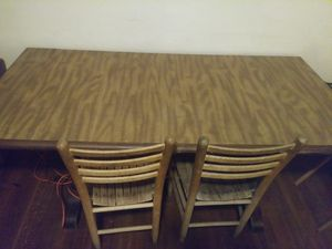 Kitchen table with 2 chairs for Sale in Nutter Fort, WV