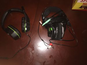 2 Gaming headphones (X12 and Afterglow) for Sale in Grand Prairie, TX