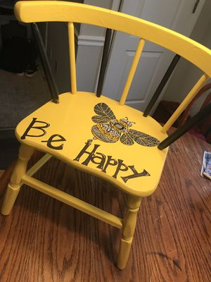 Kids wooden chair for Sale in Murfreesboro, TN