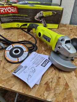 Ryobi 7.5 Amp 4.5 in. Corded Angle Grinder for Sale in Snohomish,  WA