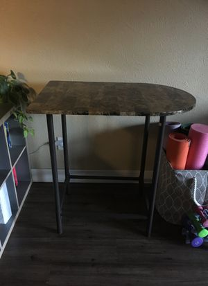 Half rounded tall table for small kitchens for Sale in Denver, CO