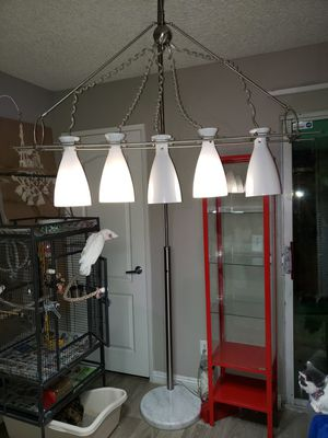 Unique marble based dimmable floor lamp for Sale in Las Vegas, NV