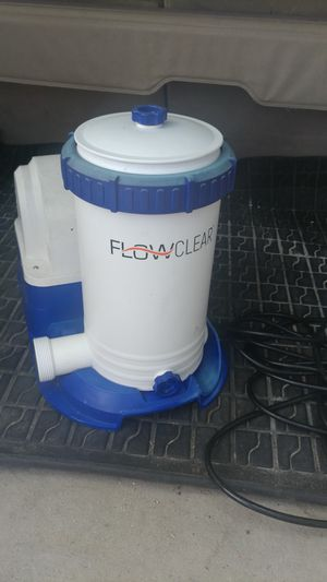 Pool filter. $50. Used for 1 month. Bought a sand filter. No need for this one. for Sale in Spring Hill, FL