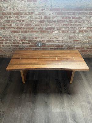 Live Edge Wood Sansur Coffee Table for Sale in Spartanburg, SC