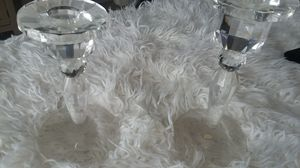 Crystal candle holder's for Sale in Black Diamond, WA