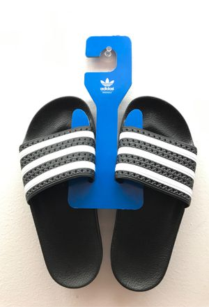 Adidas Slides Youth 5 Women's 7 (made in Italy) for Sale in Land O Lakes, FL