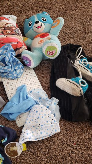 Baby boy clothes. Newborn to 3 months. for Sale in Victorville, CA