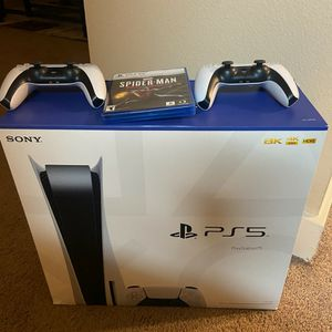 Playstation 5, PS5 DISC CONSOLE for Sale in Conroe, TX