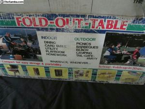 Fold out table k&s never used for Sale in Whittier, CA