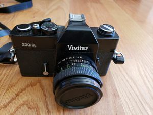 Vivitar 220sl camera for Sale in Tigard, OR