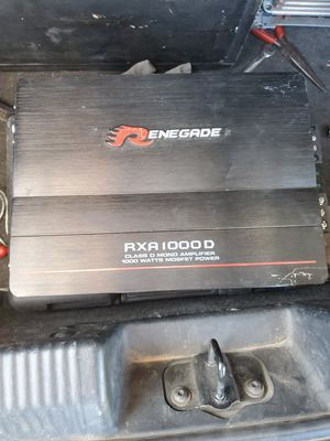 Renegade car stereo amp for Sale in Mesa, AZ