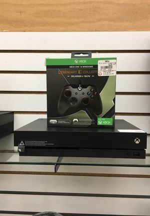 Xbox One x 1TB Black for Sale in Pittsburgh, PA
