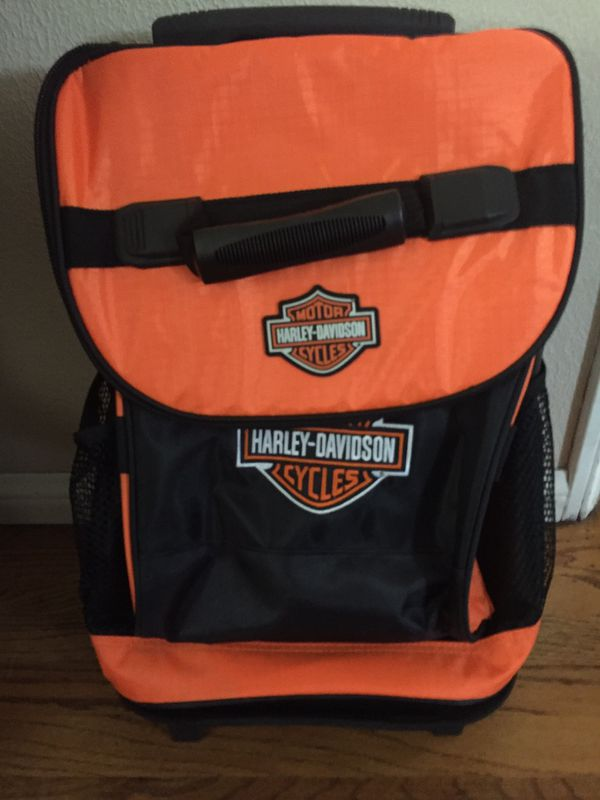 Harley Davidson HD rolling cooler/ice chest